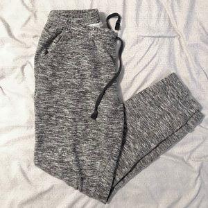 Pants - Gray Marled Joggers